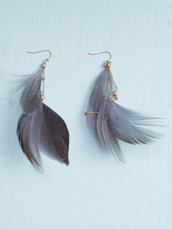 Altar'd State Feather Frenzy Earrings