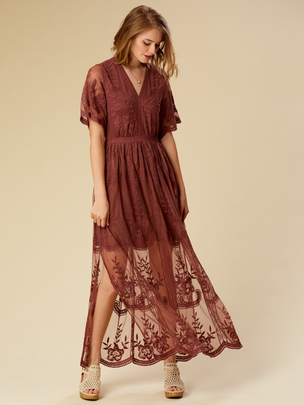 Altar'd State Marionette Maxi Dress
