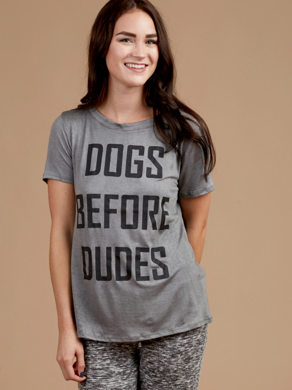 Altar'd State Dogs Before Dudes Pajama Top